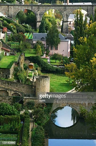 luxembourg - luxemburg stad luxemburg stockfoto's en -beelden