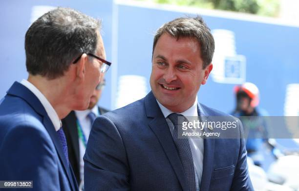 Luxembourg Prime Minister Xavier Bettel arrives at the Europa building to attend the European Union leaders summit in Brussels, Belgium, on Thursday,...