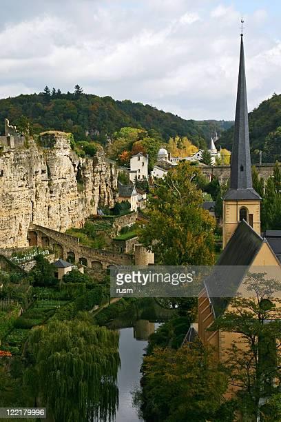 vista de luxemburgo - luxemburgo fotografías e imágenes de stock