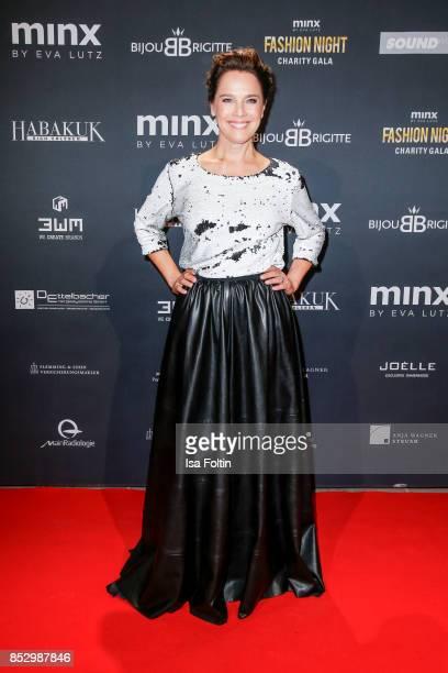 Luxembourgian presenter Desiree Nosbusch during the Minx Fashion Night in favour of 'Sauti Kuu' of Auma Obama at Wuerzburger Residenz on September 23...