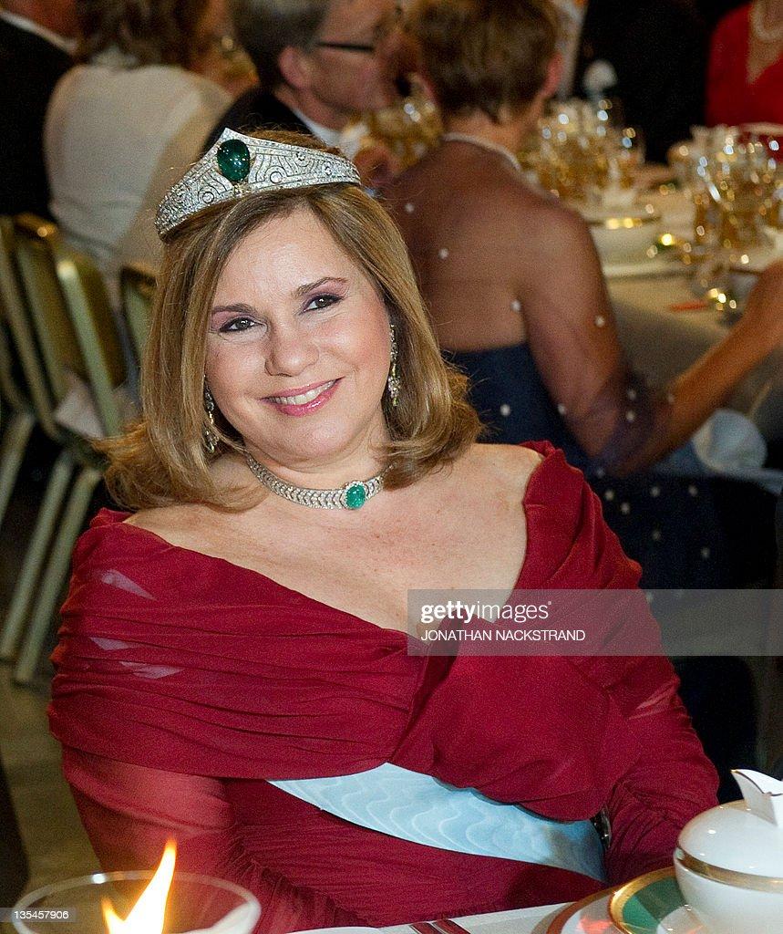 Luxembourg's Grand Duchess Maria-Teresa : News Photo