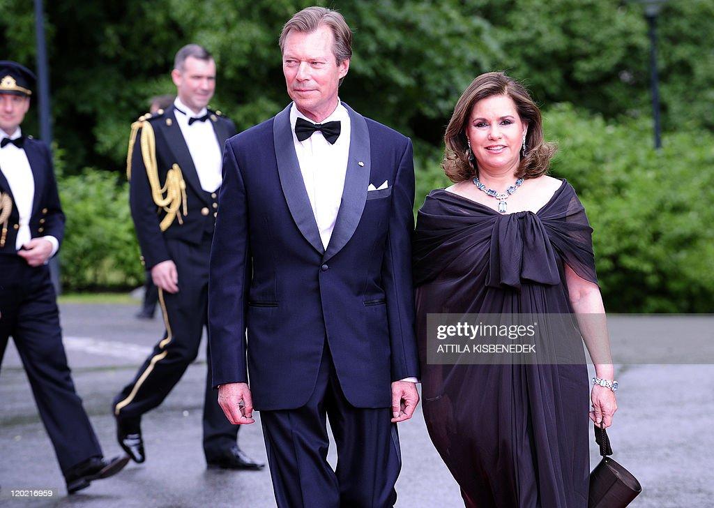 Luxembourg's Grand Duke Henri and Grand : News Photo
