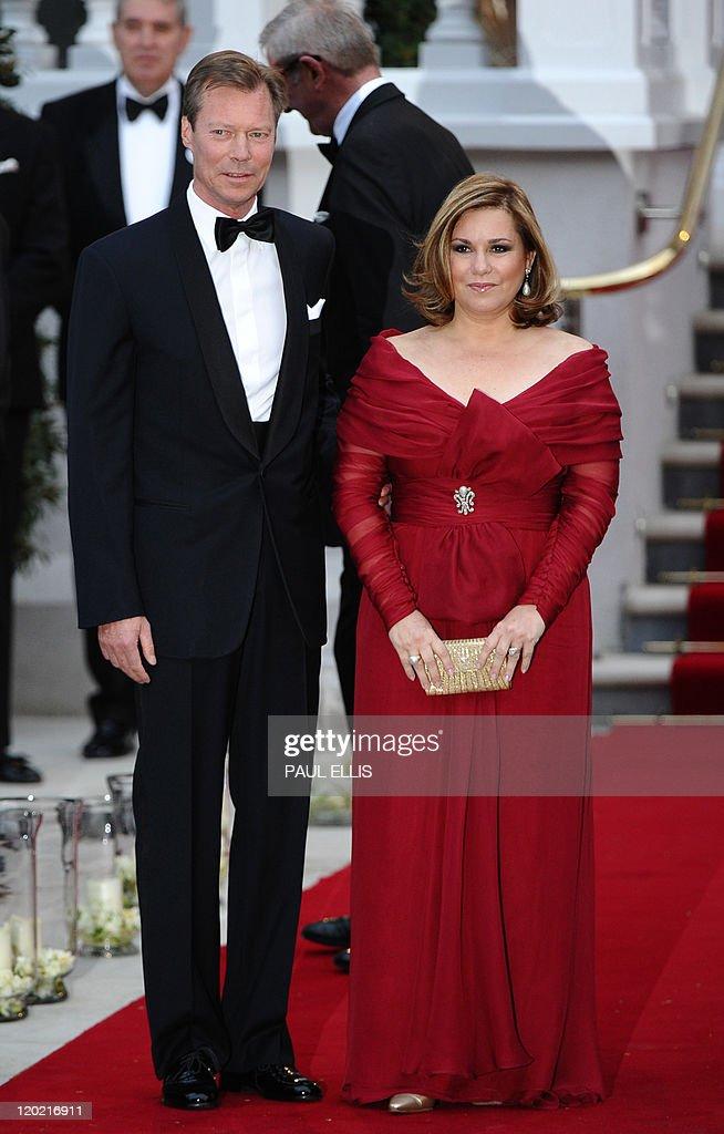 Luxembourg's Grand Duke Henri and wife g : News Photo
