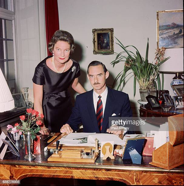 Luxembourg's Grand Duke Jean with his wife Grand Duchess Josephine Charlotte 1966 The Grand Duke came to the throne of Luxembourg's constitutional...
