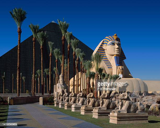 luxor hotel and casino, las vegas, nevada, usa - luxor hotel stock pictures, royalty-free photos & images