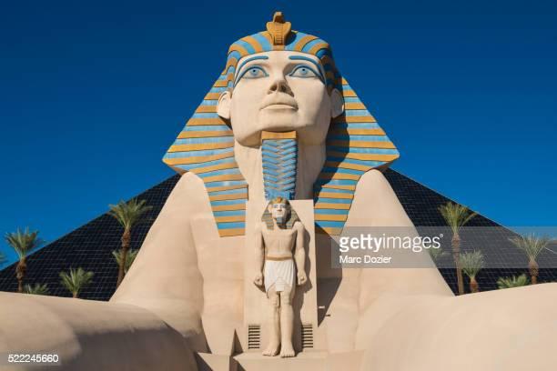 Luxor Hotel's sphinx in Las Vegas