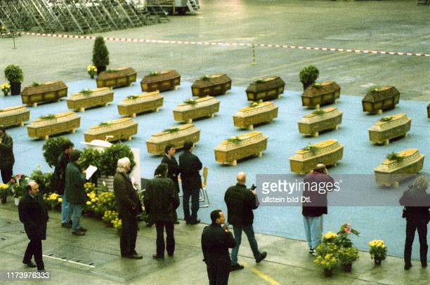 Coffins with Victims in Kloten