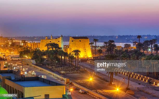 luxor - egypt stock pictures, royalty-free photos & images