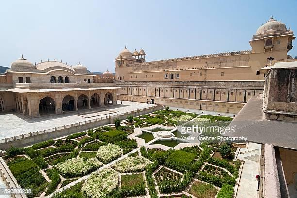 Luxuriant garden | Amber Fort | Jaipur
