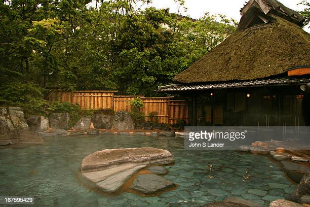 Luxurious bathing at Musoen Onsen near Beppu While Beppu is known for its many Jigoku or hells they are strictly for admiring as they are too hot for...