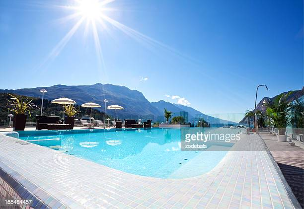 Luxurious Hotel Swimming Pool