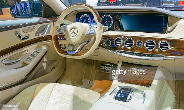 Intérieur luxueux pour une Mercedes-Benz classe S