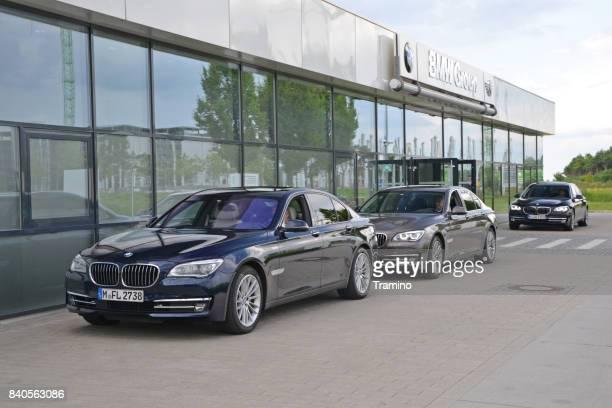 Luxurious limousines BMW 7-series
