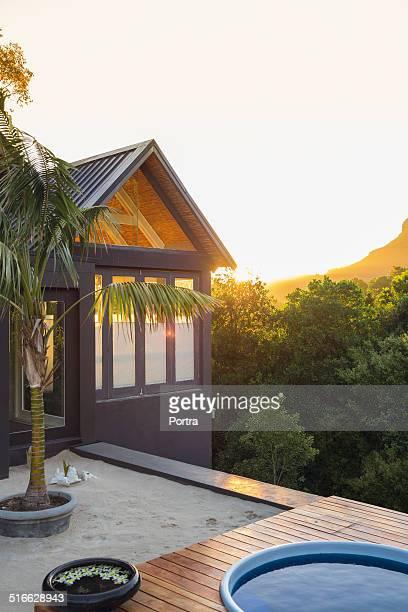 Luxurious private tourist resort