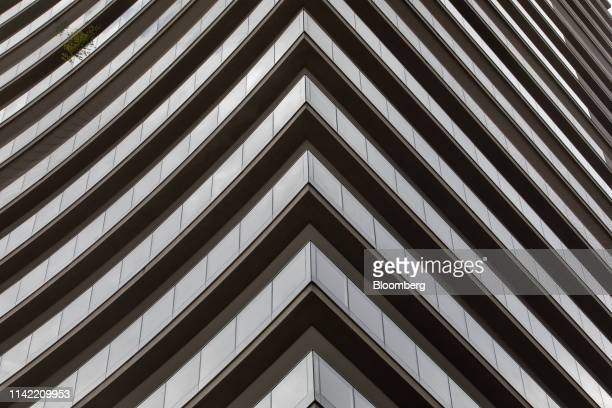 Luxury apartment building stands in the Vila Nova Conceicao neighborhood of Sao Paulo, on Monday, May 6, 2019. The luxury residential-property market...