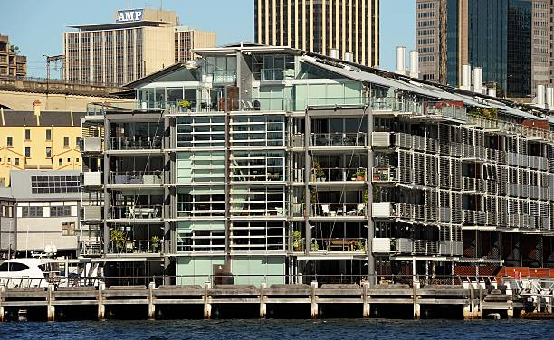 Luxury Apartments At Walsh Bay In The