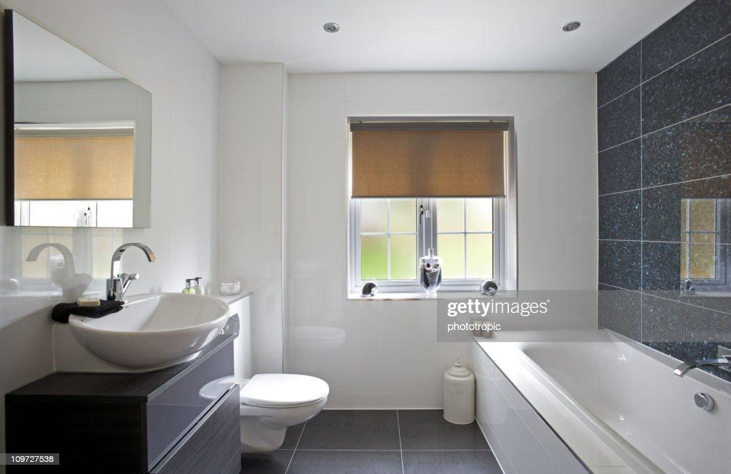 luxury bathroom : Stock Photo