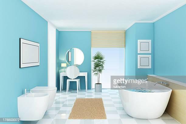 豪華なバスルーム - ビデ ストックフォトと画像