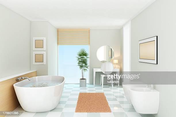 luxury bathroom - bidé bildbanksfoton och bilder
