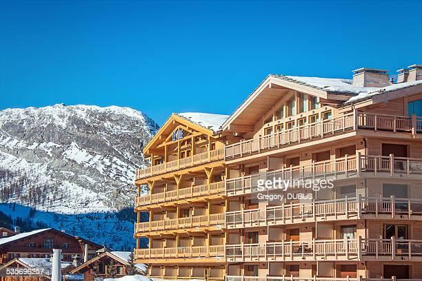 Luxe Grand chalet de montagne dans les Alpes