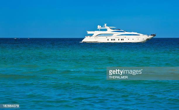 Luxus Boot in miami beach