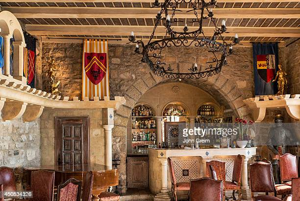 Luxury boutique hotel bar Chateau Eza