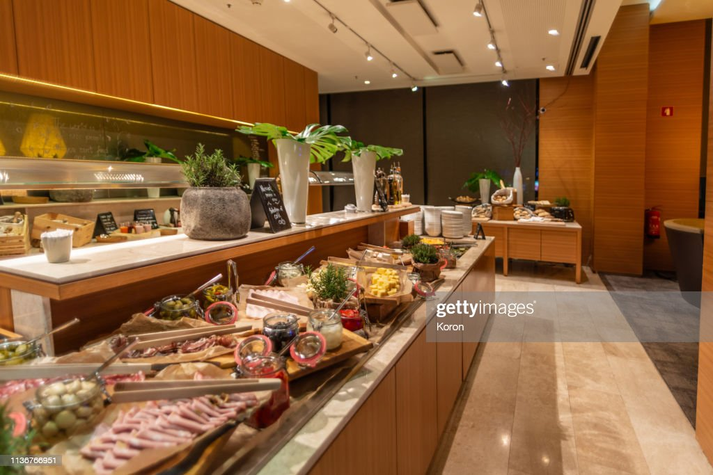 Luxury Breakfast Buffet In Hotel Restaurant High Res Stock Photo Getty Images
