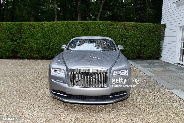 Luxury car at the Katrina and Don Peebles Host NY Mission Society Summer Cocktails at Private Residence on July 7 2017 in Bridgehampton New York