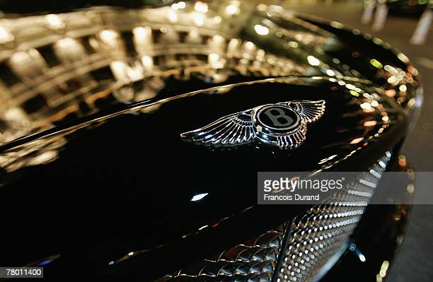 Luxury car Bentley is seen in the streets of Monaco beside the Casino and the Hotel de Paris on november 20, 2007 in Monte Carlo, Monaco. The United...