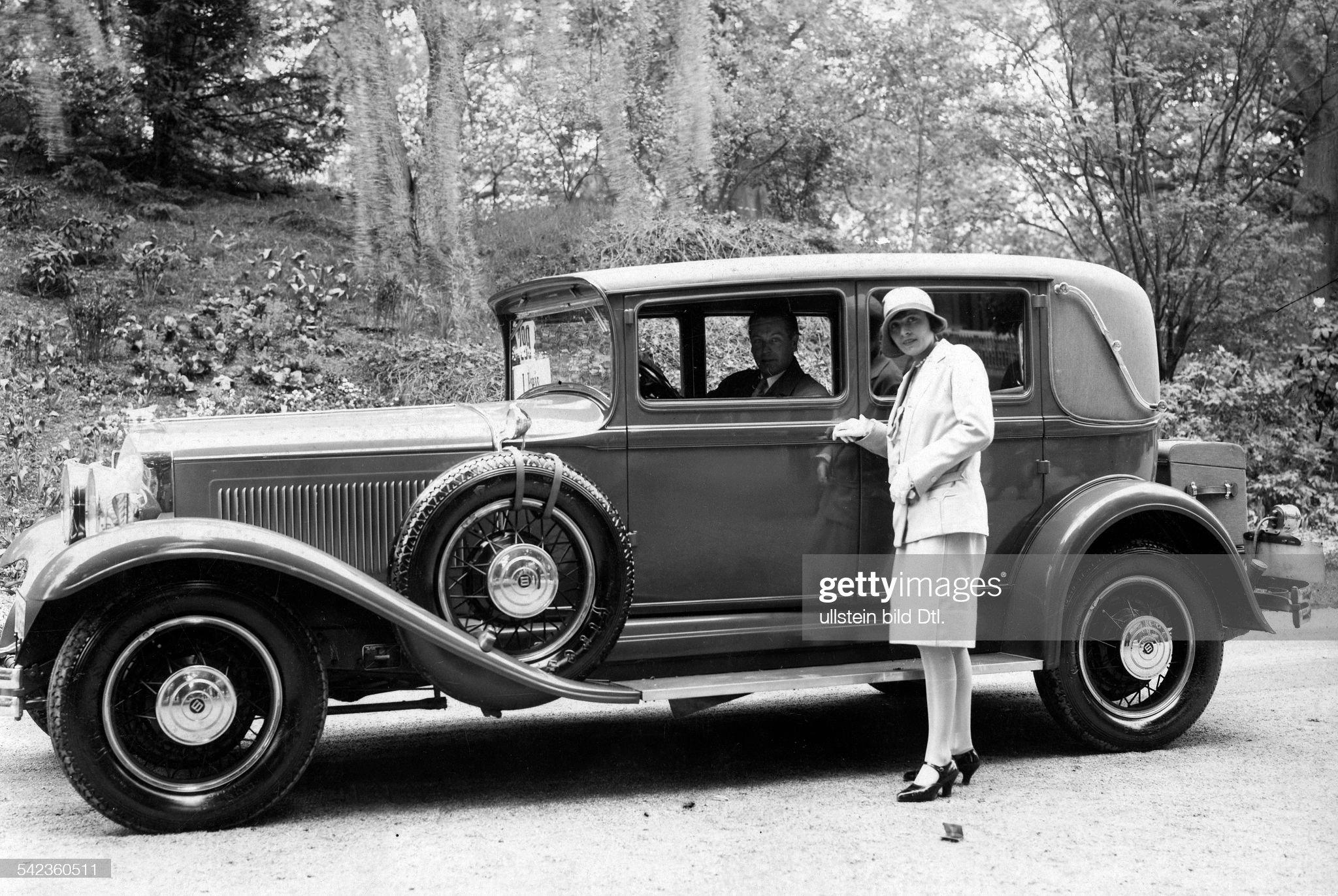 Luxury cars A 20 hp Studebaker - 1929 - Vintage property of ullstein bild : News Photo