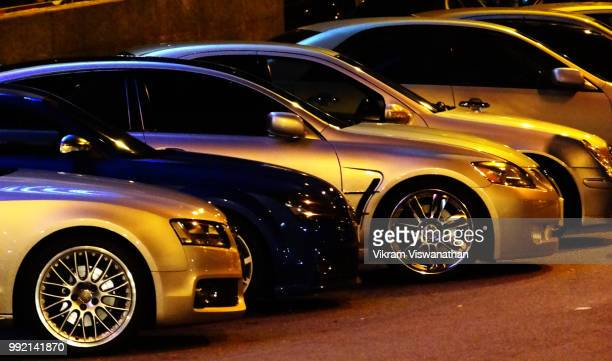 luxury cars from the streets of malaysia - motor show stock pictures, royalty-free photos & images