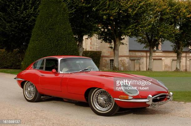 Luxury Cars Of Yesterday And Today 19 dream cars photographed in the courtyard of the castle of TremblaysurMauldre Jaguar EType 42 I