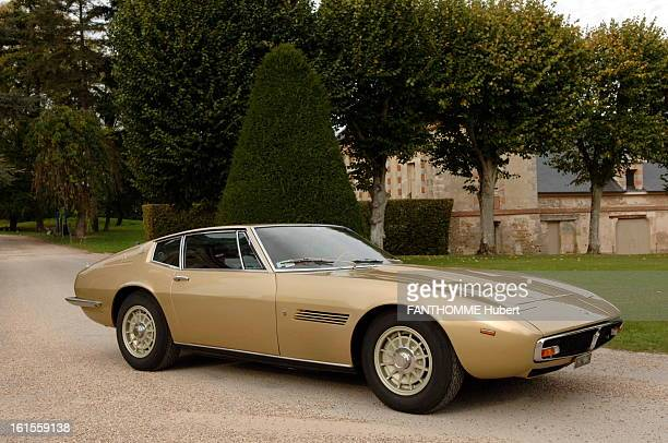 Luxury Cars Of Yesterday And Today 19 dream cars photographed in the courtyard of the castle of TremblaysurMauldre Maserati Ghibli 47 I