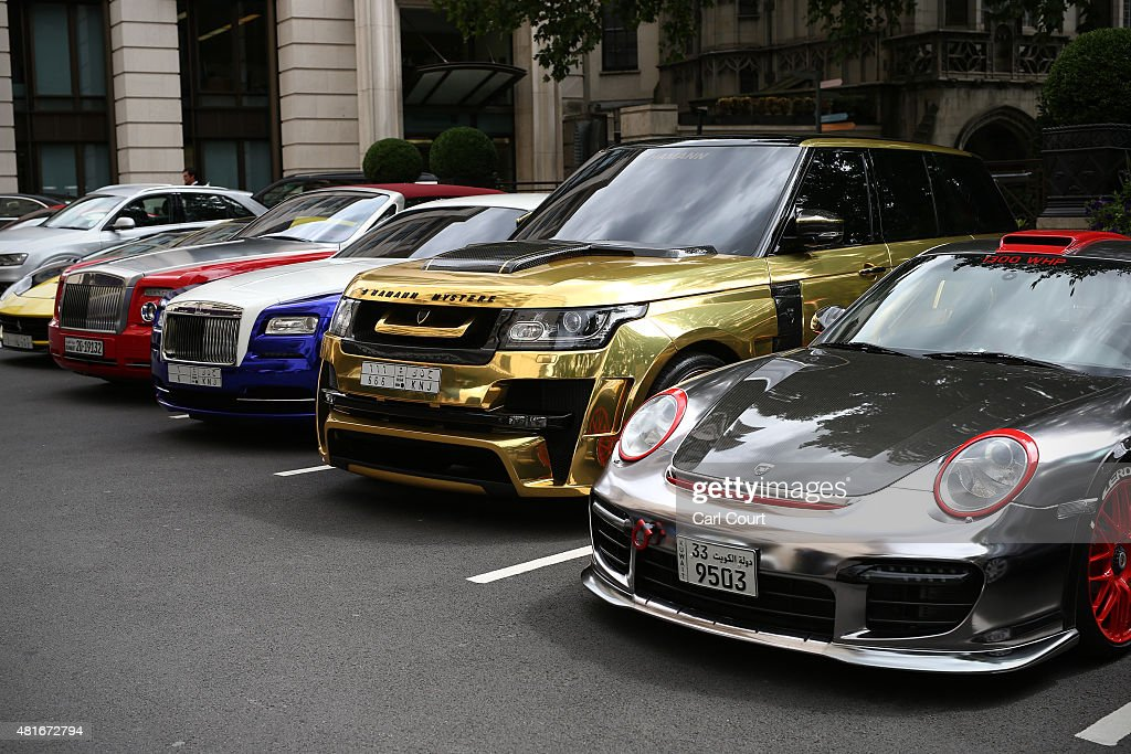 Supercars Arrive In Knightsbridge For The Summer Photos And Images