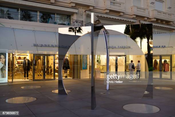 Luxury Clothing Stores or Shopping Mall on the Croisette Cannes