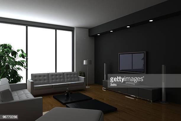 Luxury condo interiors (on white background!)