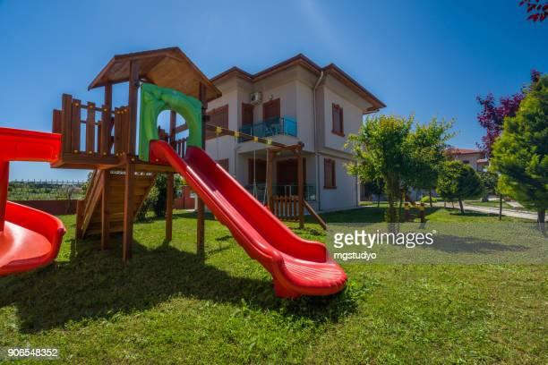 Luxury Construction hotel playground