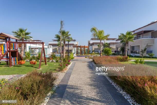 Luxury Construction hotel road