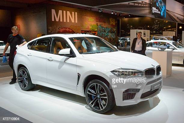 BMW X6 M luxury crossover SUV front view