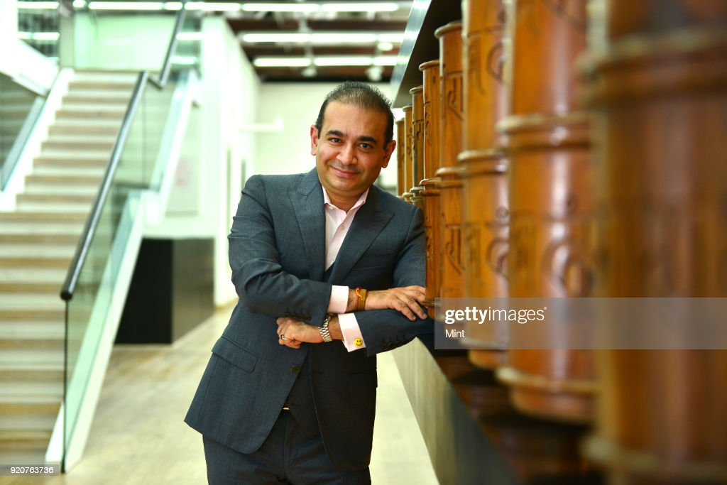 Profile Shoot Of Diamantaire Nirav Modi