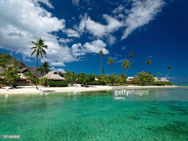 De l'hôtel de la plage de rêve du complexe touristique
