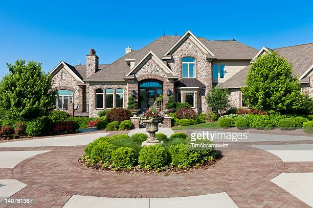 luxury dream home - luxury stock pictures, royalty-free photos & images