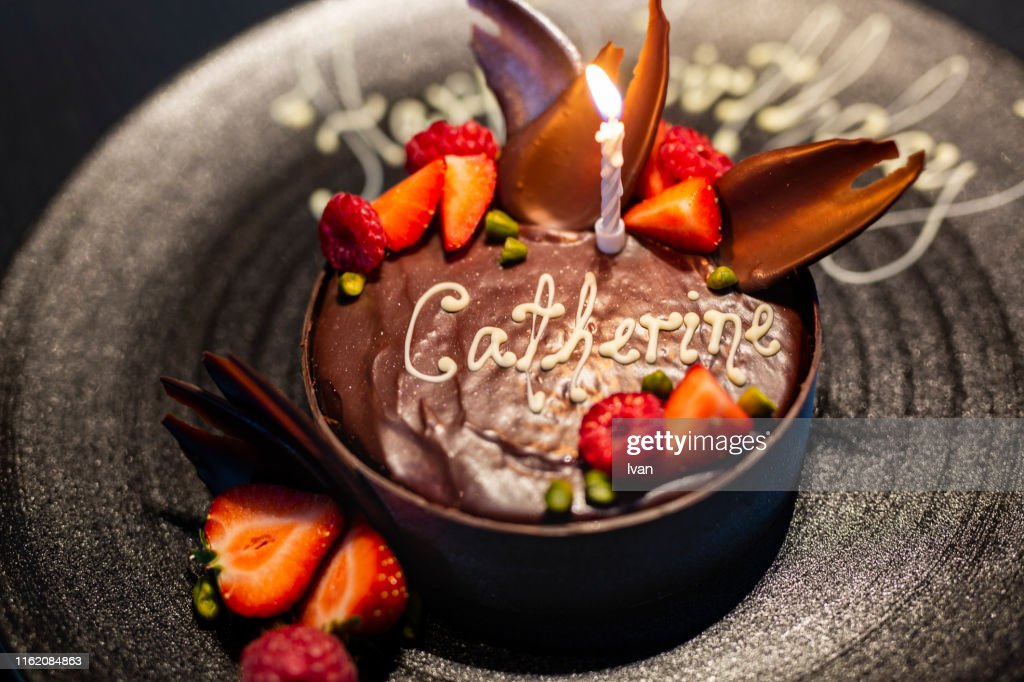Fine Luxury Fine Dining Black Chocolate Birthday Cake With Red Berry Funny Birthday Cards Online Inifodamsfinfo