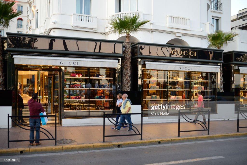 Luxury Gucci Store On La Croisette Cannes Photo   Getty Images 57c7a3d338a