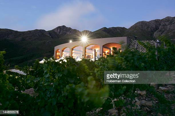 Luxury Guesthouse Dieu DonnŽ in Franschhoek Valley part of South Africa's Cape Wine Route