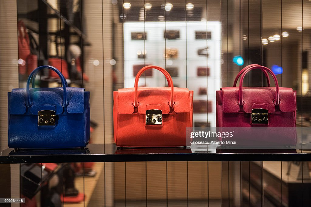 Luxury handbags : Stock Photo