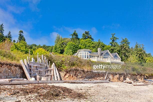 Luxury home and garden on Bainbridge Island, Washi