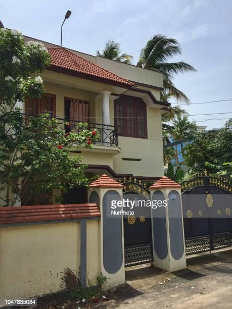 Luxury home in the city of Thiruvananthapuram , Kerala, India.