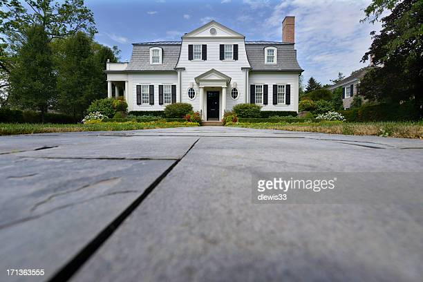 luxury home - low angle view stock pictures, royalty-free photos & images