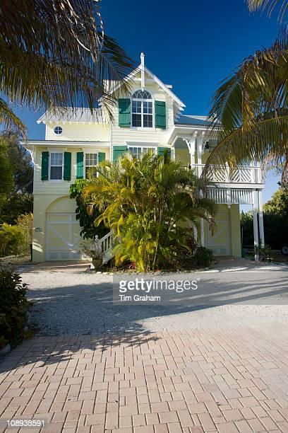 Luxury homes at the vacation resort of Anna Maria Island Florida United States of America